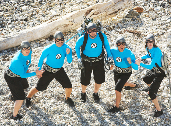 The Aquabats returns for season 2 on The Hub