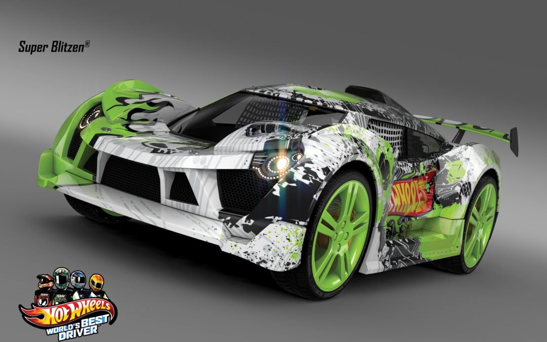 Exclusive Car Preview from the upcoming Hot Wheels Video Game
