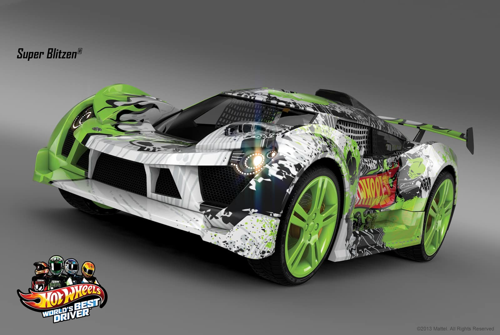 Exclusive Car Preview from the upcoming Hot Wheels Video Game | DaDa ...