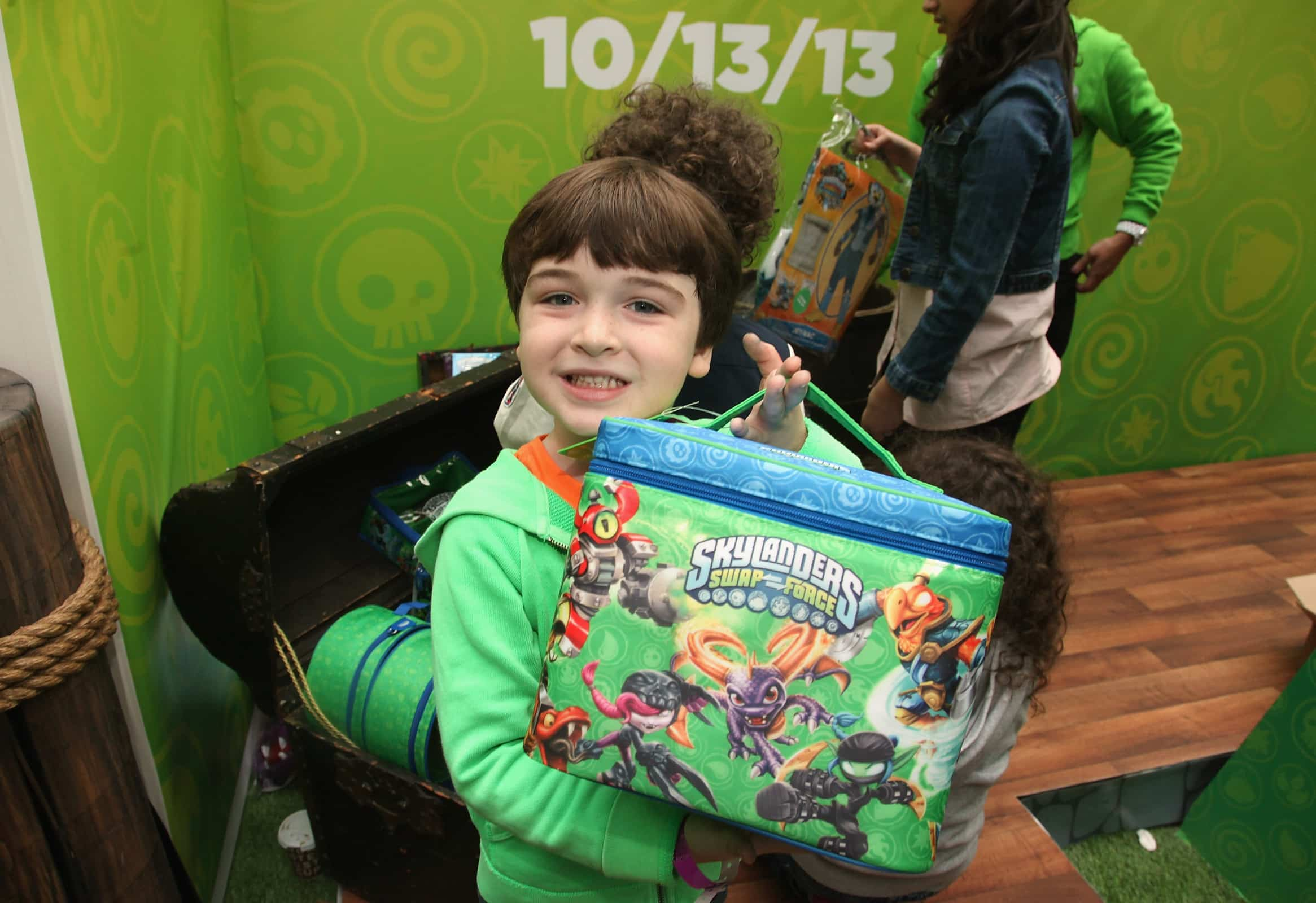 Skylander SWAP Force Launch Event