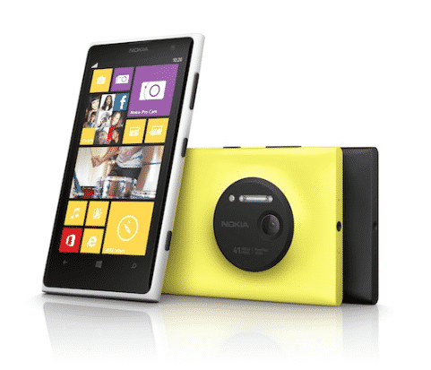 Nokia Lumia 1020 41 Megapixel Camera Phone – You know you want it!
