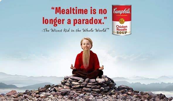 Campbell Soup Company kicks off The Wisest Kid in the Whole World!