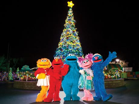 Celebrate the holidays with a very furry Christmas at Sesame Place