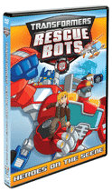 TRANSFORMERS RESCUE BOTS:  Heroes on the Scene DVD