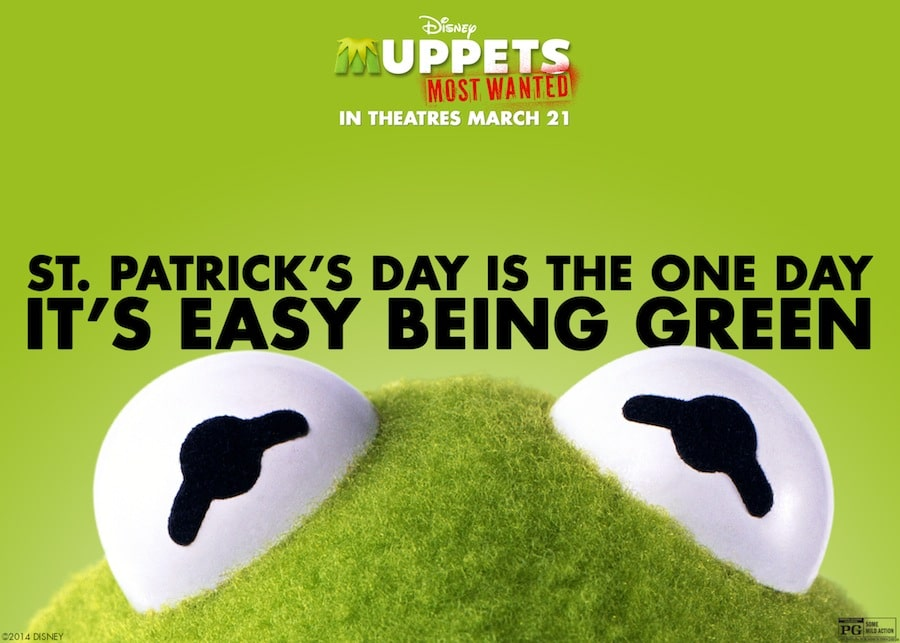 Muppets Most Wanted – Happy St. Patrick's Day!