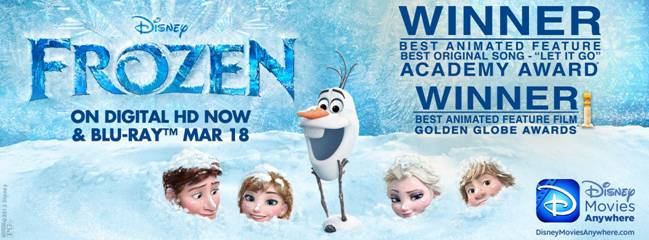 Disney's Oscar-Winning FROZEN Crosses $1 Billion Worldwide!