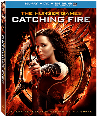Hunger Games: Catching Fire on BD/DVD Today