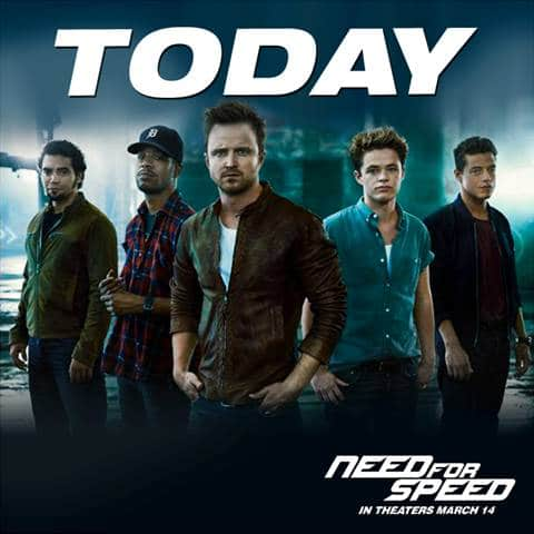 DreamWorks Pictures' NEED FOR SPEED – In Theatres Everywhere
