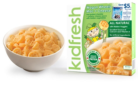 Kidfresh Frozen dinners while enjoying Disney's Frozen movie #FrozenKidfresh