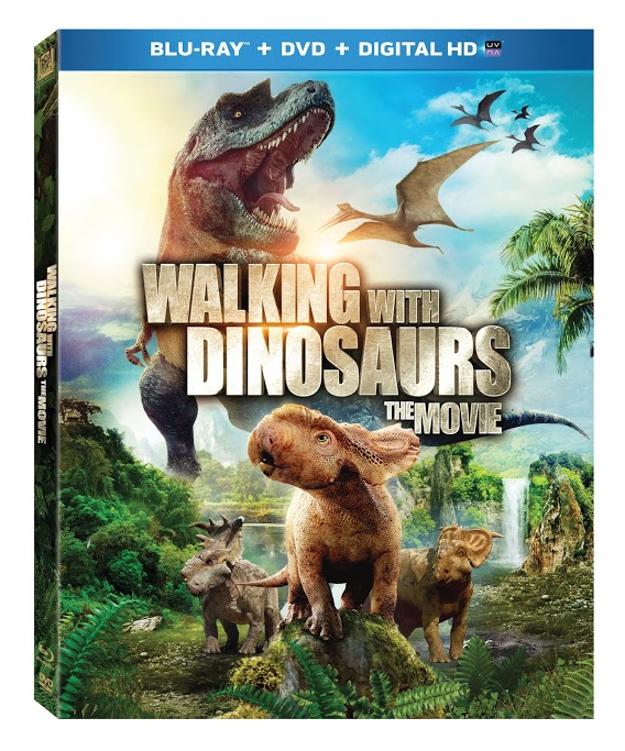 Walking With Dinosaurs walking into your home on Blu-ray & DVD