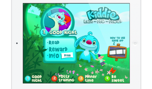 3 General - 1 Kiddie's world sleeping and openingshot - Kiddie App