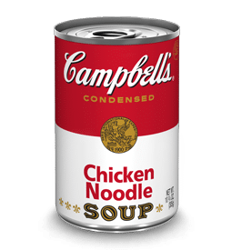 January is a National Soup Month and Campbell's is King!