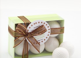 Norman Love Confections - White Chocolate and Coconut Golf Balls