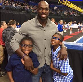 "Titus O'Neil and other WWE Stars ""Take Time To Be A Dad"" This Father's Day"