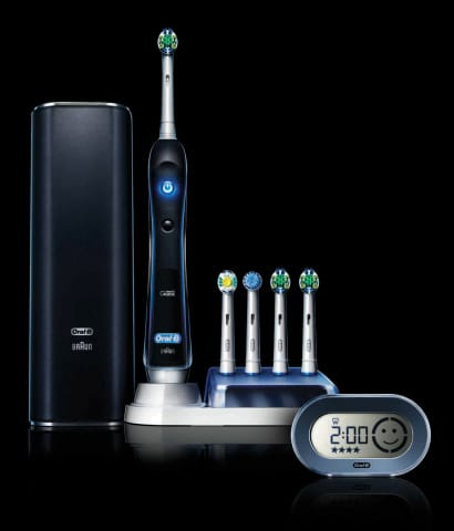 Oral-B brings out the power tool for brushing your teeth with the Black 7000 #PowerofDad