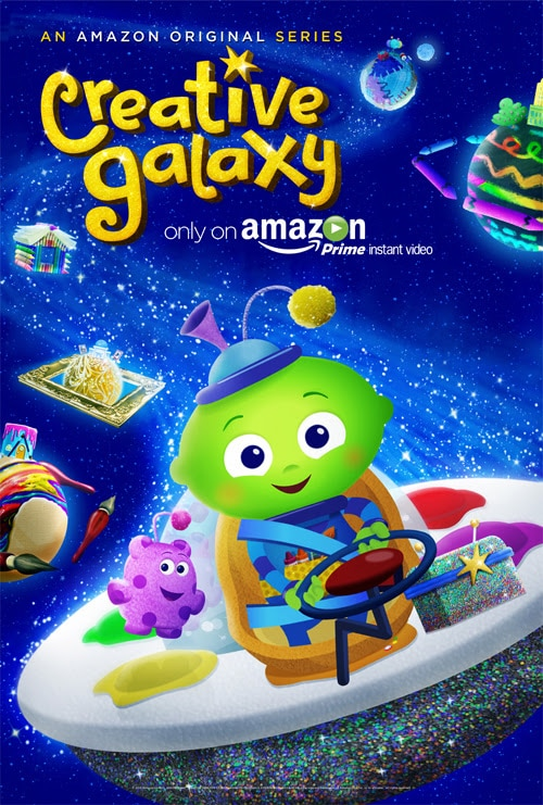 Amazon Prime Instant Video Presents: Creative Galaxy!