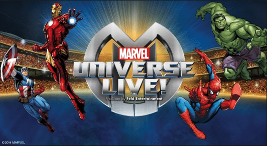 Marvel Universe Live– Coming Soon to A City Near You!