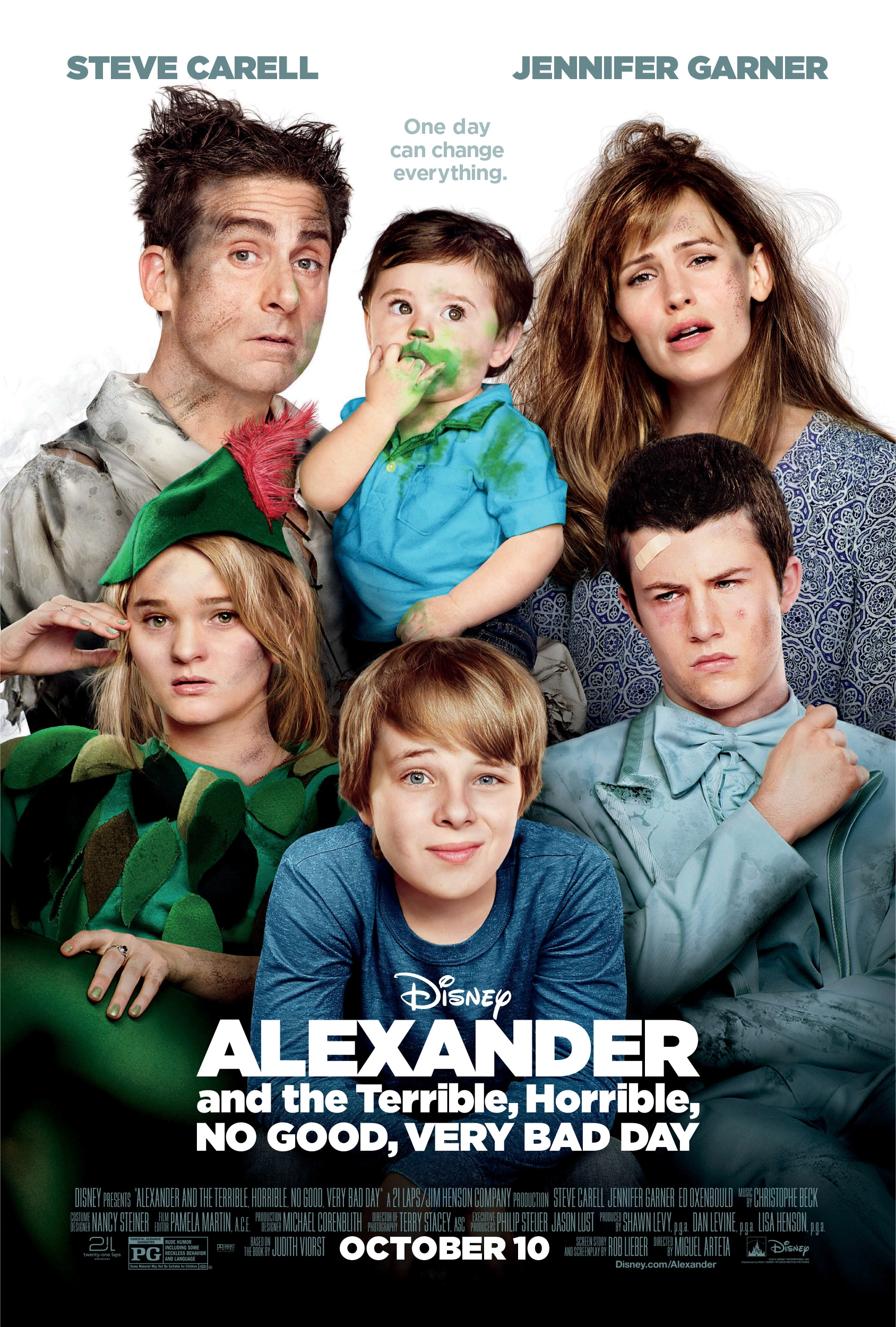 """Alexander and the Terrible, Horrible, No Good Very Bad Day"" Screening With Jennifer Garner"