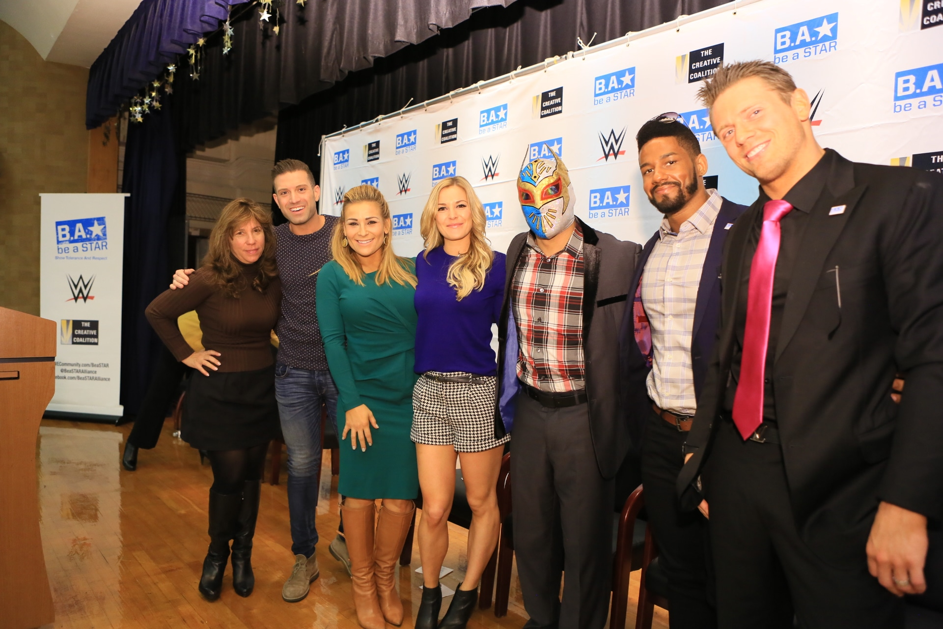 WWE Supports GLAAD's Spirit Day!