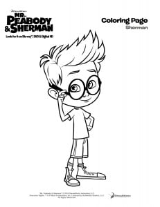Sherman-coloringpage 2