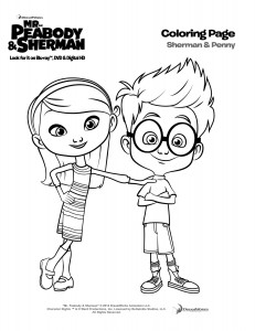 ShermanAndPenny_coloringpage 2