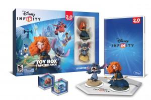 disney infinity toy box starter pack - agnostic
