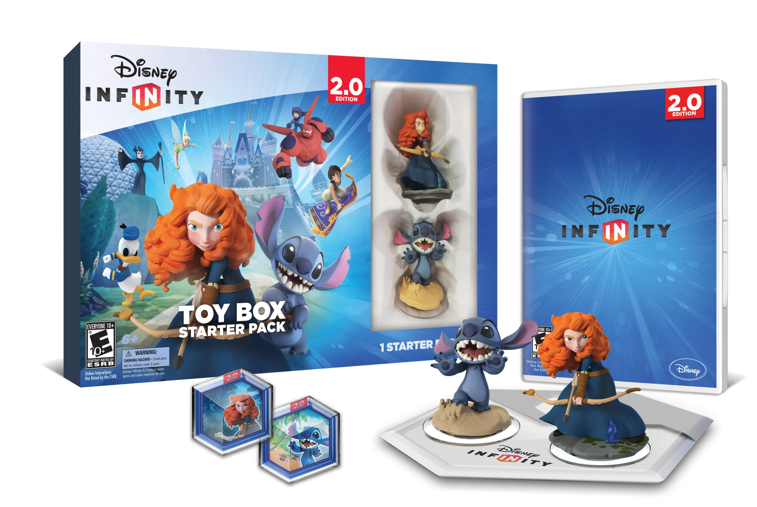 Disney Infinity: Toy Box Starter Pack (2.0 Edition) Available Today!