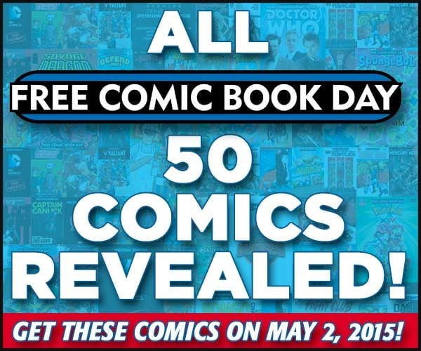 All 50 Free Comic Book Day Comics Announced!