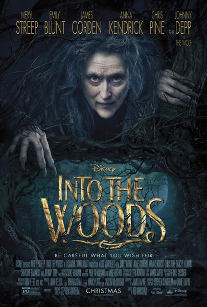 Disney's Into the Woods is a dark adventure that you'll be singing along too!