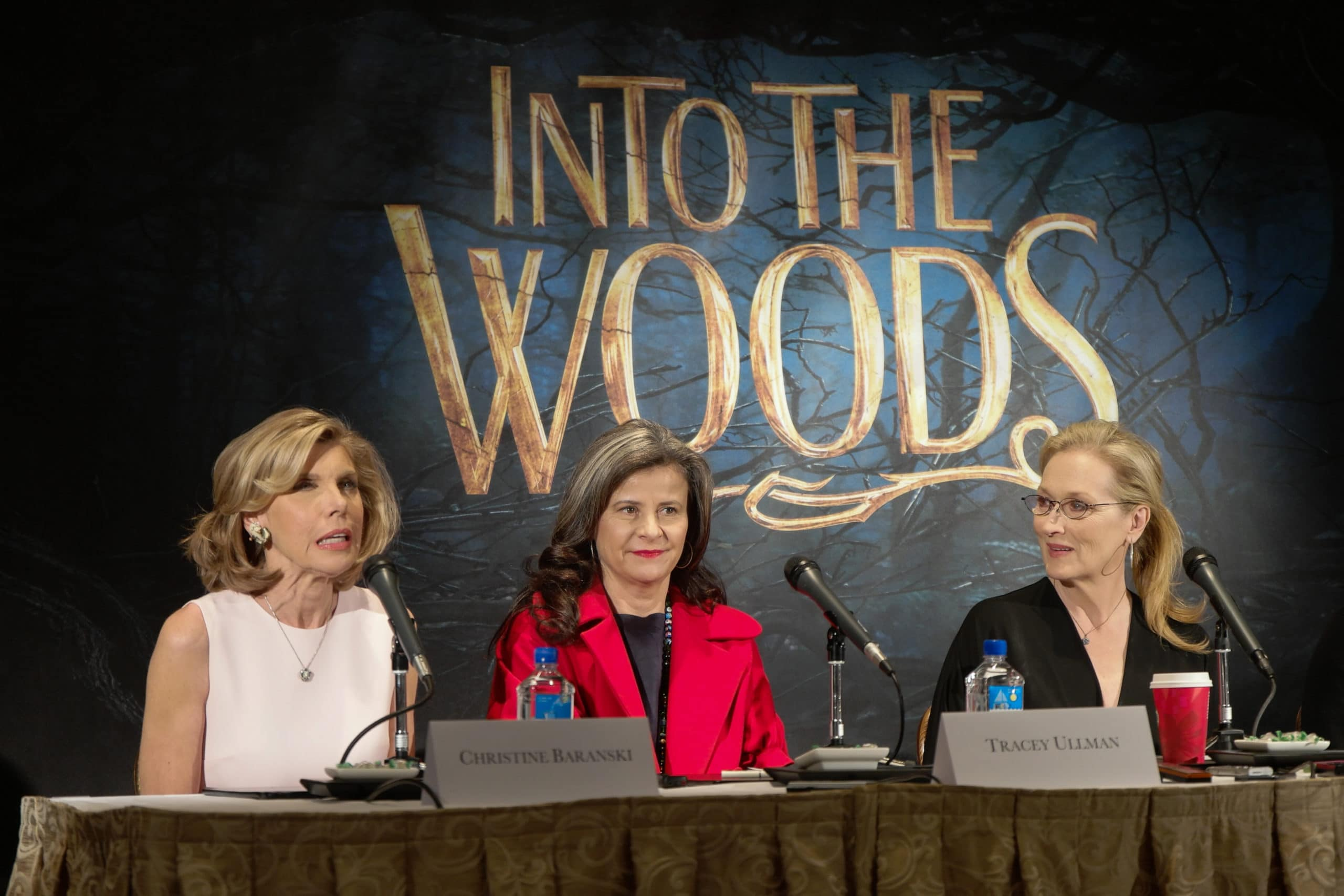 Into The Woods celebrity interviews