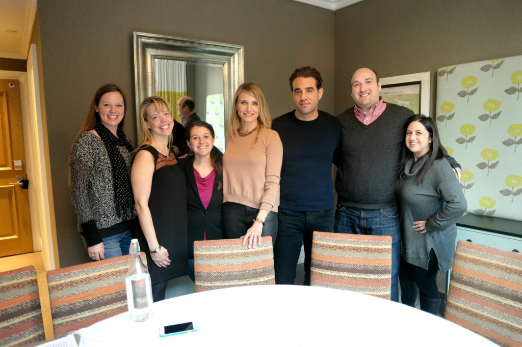 Annie: Interview With Bobby Cannavale and Cameron Diaz!