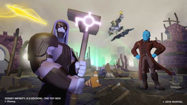 "Play as Your Favorite Marvel Villains and Outlaws in ""Disney Infinity 2.0""!"