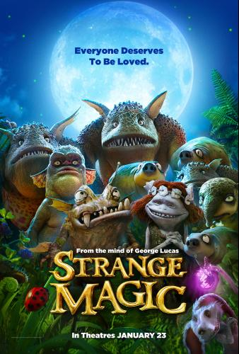 Strange Magic Press Junket with George Lucas & Cast! #StrangeMagic