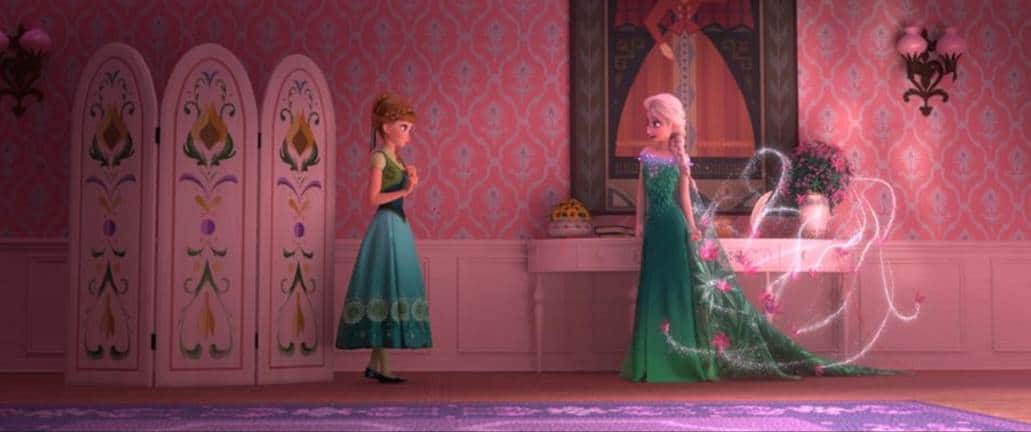 Frozen Fever first look!