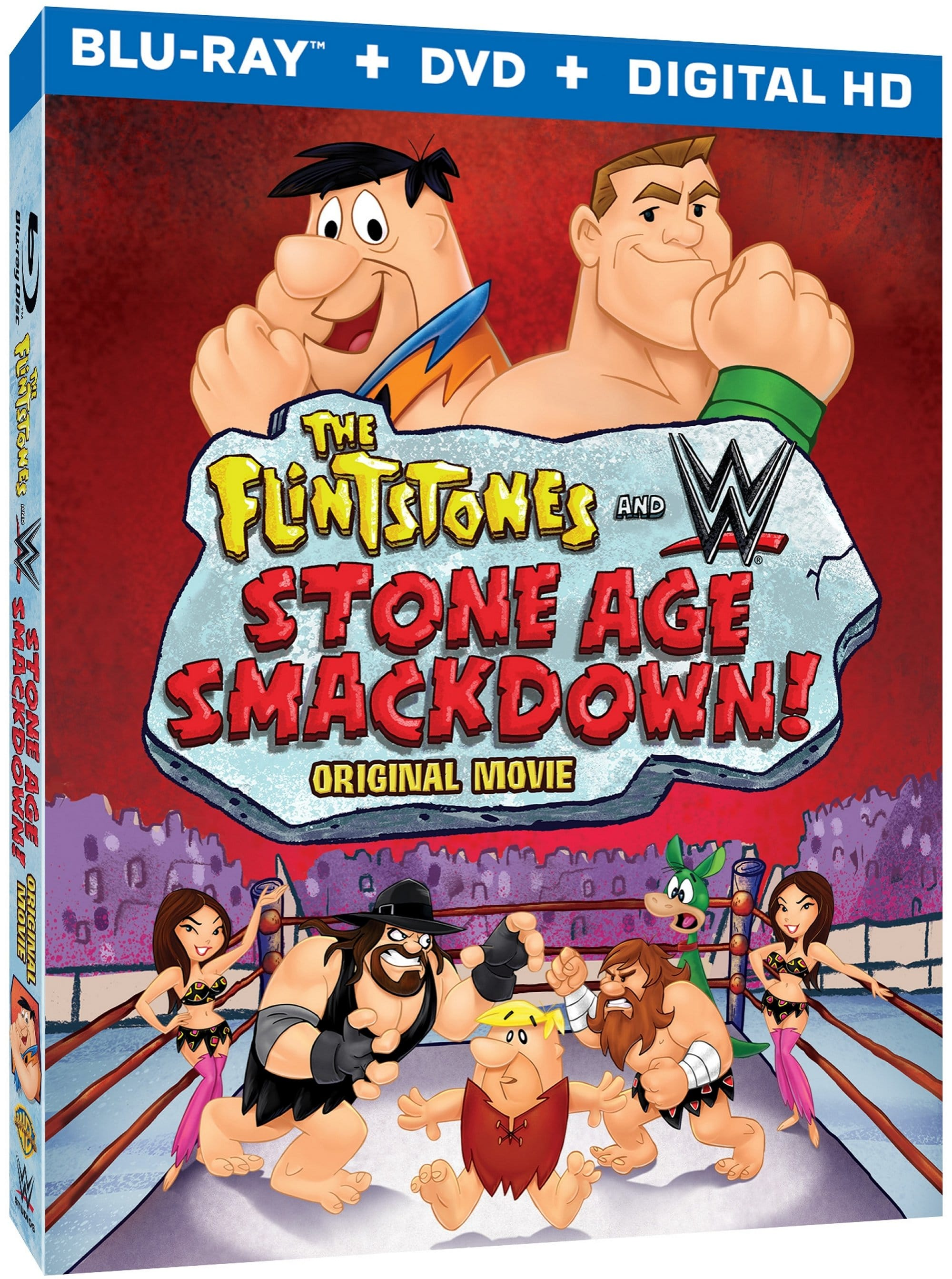 The Flintstones & WWE: Stone Age Smackdown is a Treat for the Whole Family!