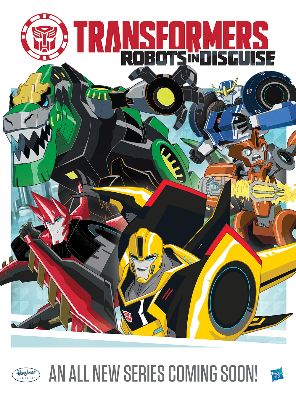TRANSFORMERS: Robots in Disguise Premieres  Saturday, March 14 on Cartoon Network
