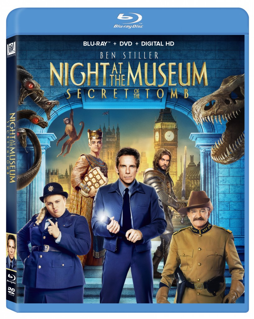 Night at the Museum 3 is out now on Blu-ray/DVD & Digital Download