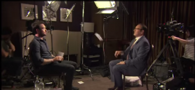 Kevin Spacey interviews Charlie Cox
