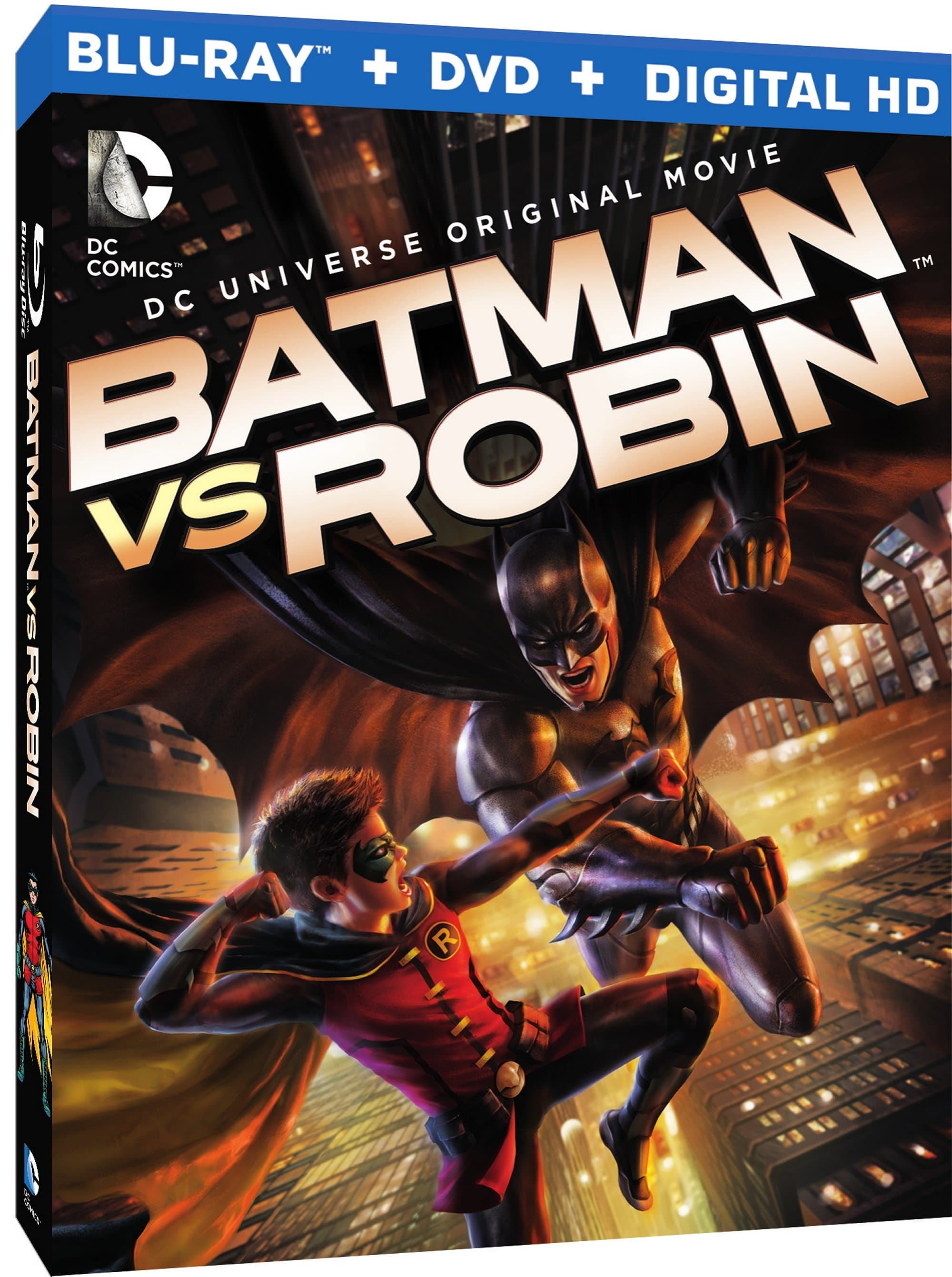"""Batman vs. Robin"": Own it on Blu-ray™ Combo, DVD & Digital HD April 14"