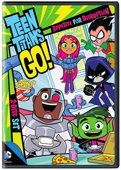 Teen Titans Go!: Appetite for Disruption Season 2 Part 1 on DVD April 14, 2015