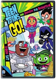 Teen Titans Go!: Appetite for Disruption Season 2 Part 1 on DVD April 14, 2015