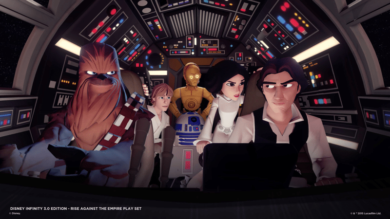 Disney Infinity 3.0 will feature Star Wars Joins Forces with Disney, Pixar and Marvel