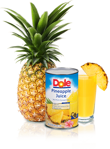 Cheers to Dole Pineapple Juice