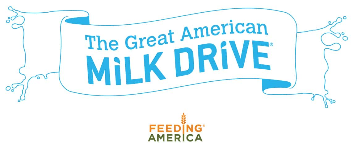 Bringing home the milk for families in need #MilkDrive