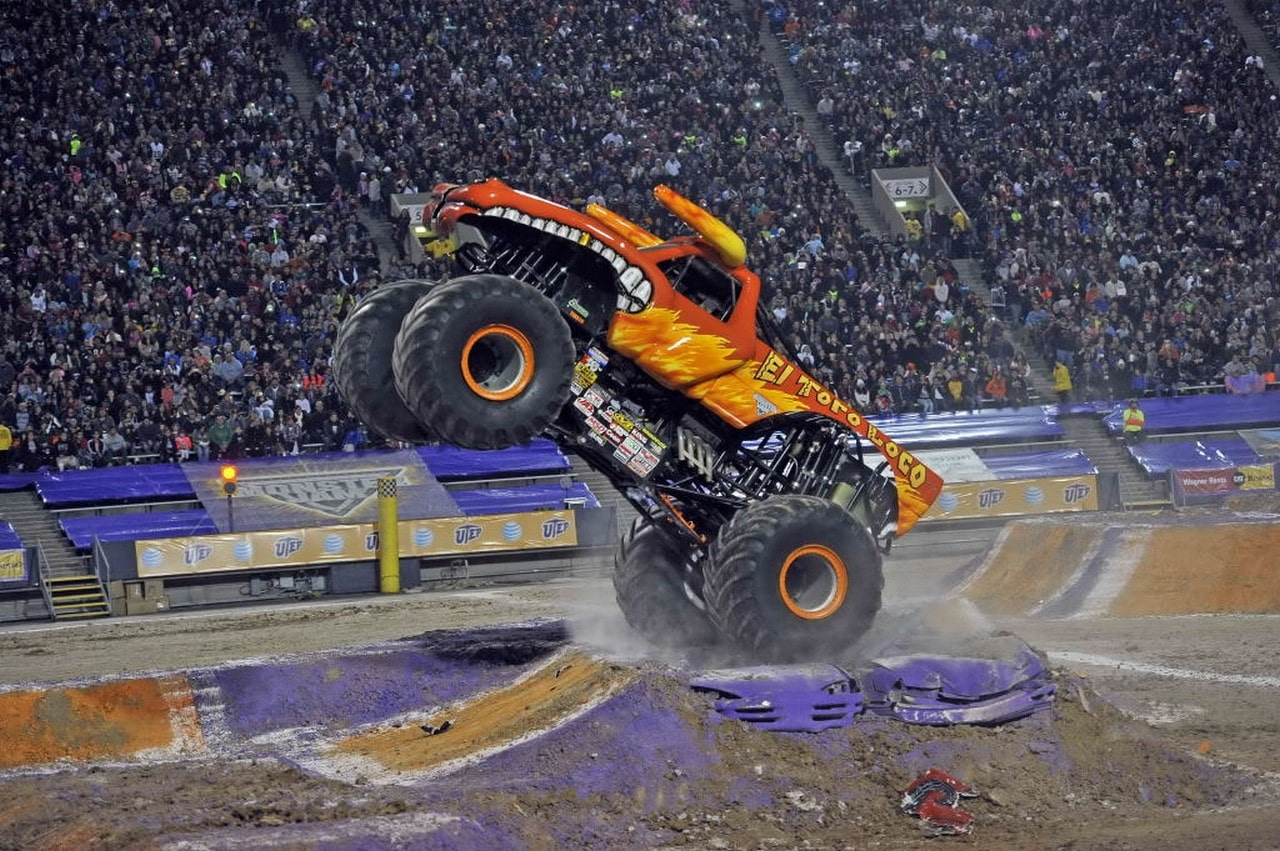 Monster Jam makes a path of destruction into NY NJ this weekend!