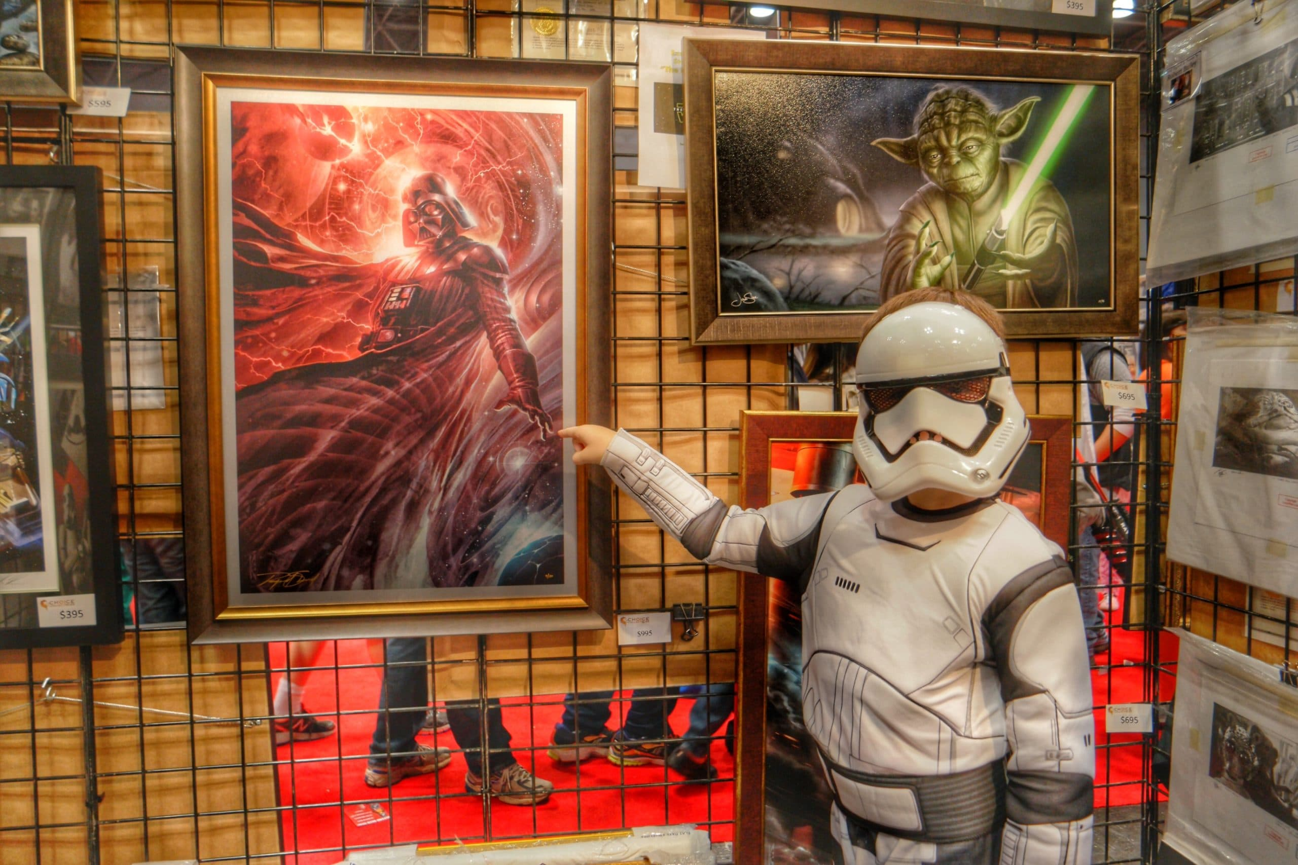 New York Comic Con 2015 and finding real art at Choice Collectables