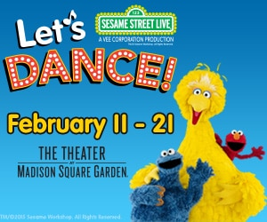 Sesame Street Live: Let's Dance! at the Theater at MSG