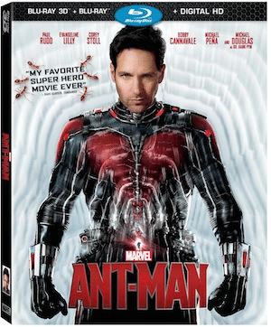 Ant-Man shrinks on to Blu-Ray DVD and Digital downloads