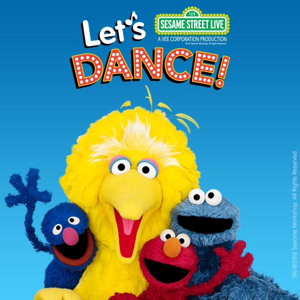 "Sesame Street Live ""Let's Dance"" at MSG coupon code for BOGO!"