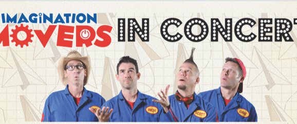 The Imagination Movers are coming back to New York!